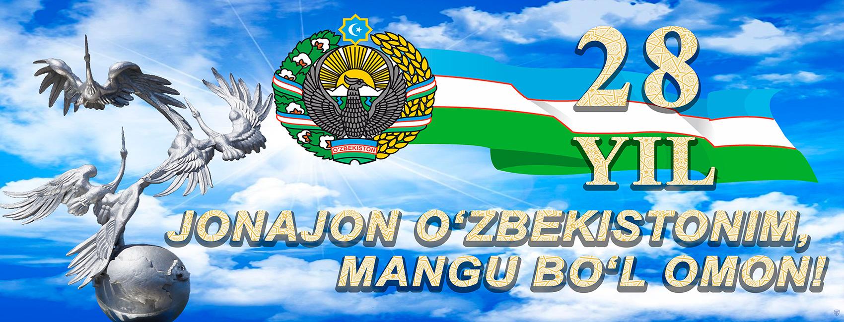 JONAJON O'ZBEKISTONIM MANGU BO'L OMON!