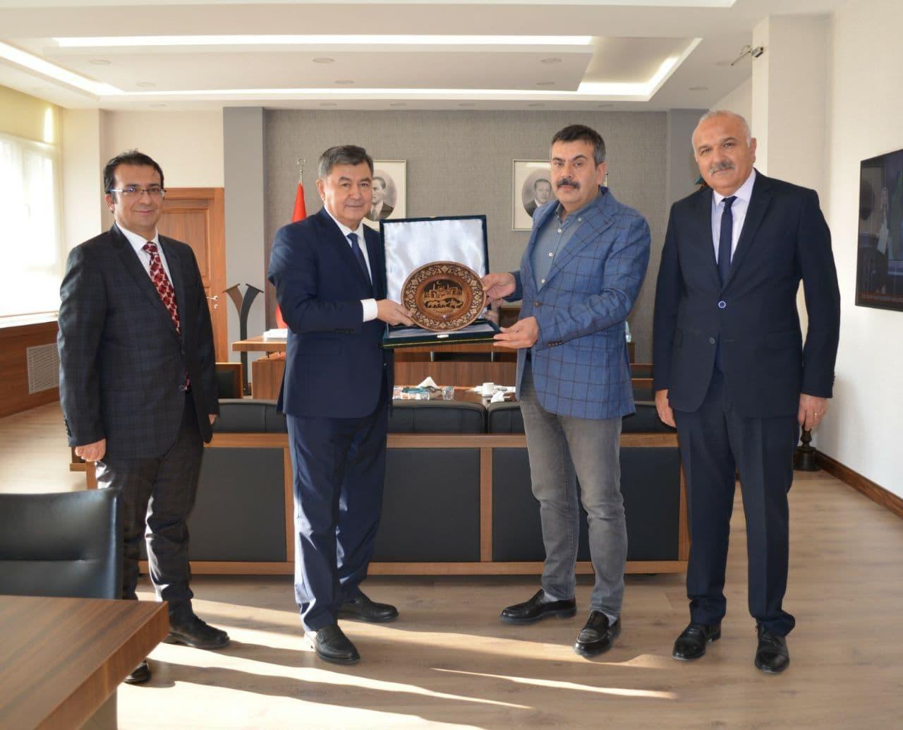ЎзДСМИ Туркия университети билан ҳамкорликни йўлга қўйди