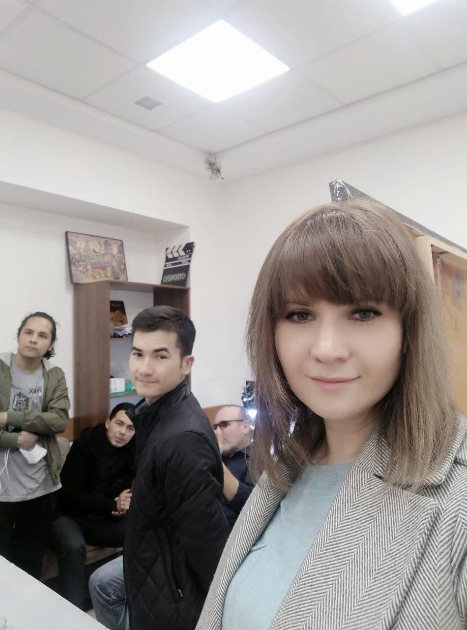 Студенты-выпускники ГИИК Узбекистана проходить производственную практику на «Узбекфильме»
