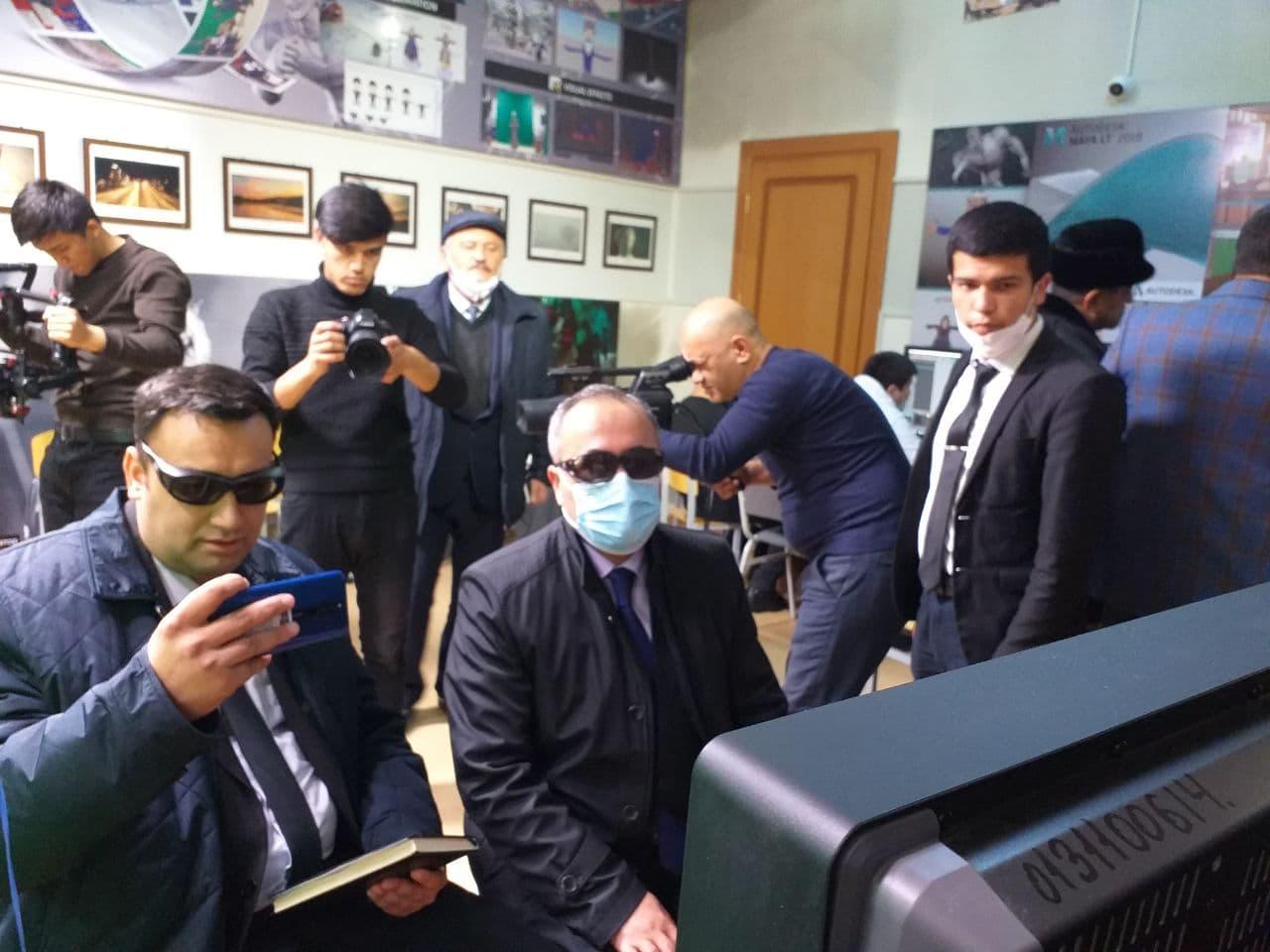 Визит делегации Государственного института культуры и искусств Таджикистана имени Мирзо Турсунза в Государственный институт искусств и культуры Узбекистана