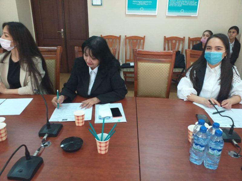 "Scientific-practical webinar on ""Empowerment of women in creative entrepreneurship and creative education in Uzbekistan"""