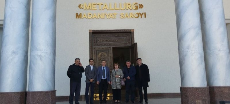 Профессорско- преподавательский состав ГИИКУЗ посетили город Алмалык