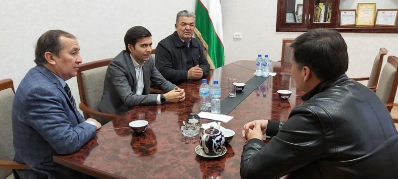 Visit of the team of the State Institute of Arts and culture of Uzbekistan to Almalik city