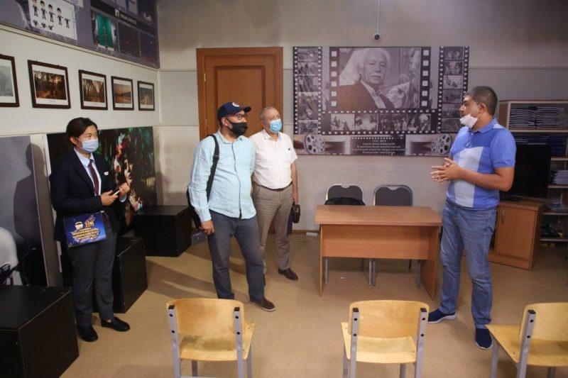 O'zDSMIga Qozog'iston milliy san'at universiteti  delegatsiyasi tashrifi