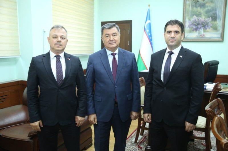 Turkiya delegatsiyasi tashrifi