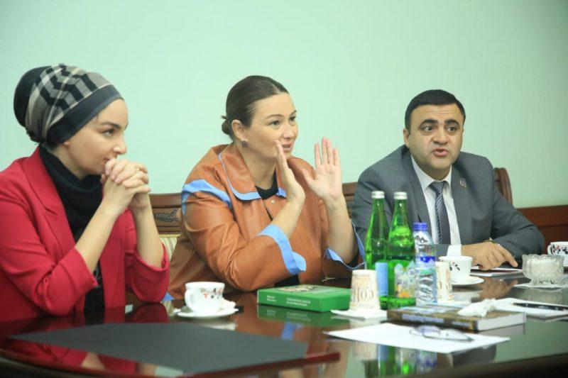 О'zDSMIga Ozarbayjon delegatsiyasi tashrifi